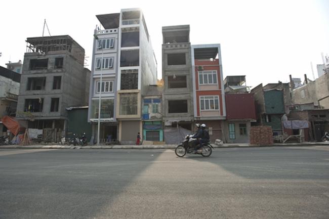 Hà Nội xử lý triệt để nhà siêu mỏng, siêu méo ở Ô Chợ Dừa