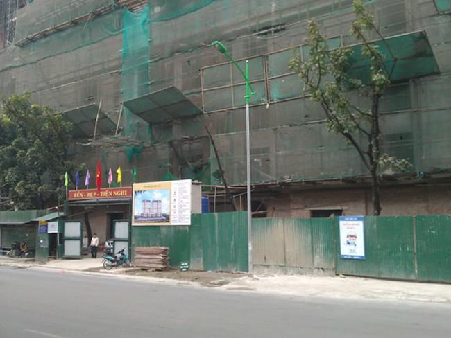 Tiến độ hàng loạt dự án khu Giảng Võ, Ba Đình