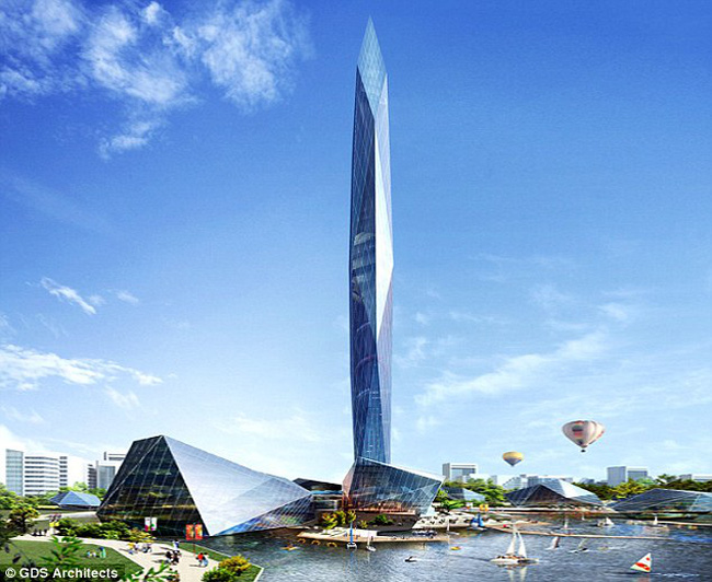 Hàn Quốc chi hàng tỷ USD xây tháp tàng hình đầu tiên trên thế giới