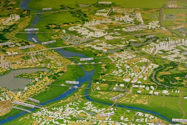 Hà Nội: Huyện Đông Anh sẽ có 2 khu đô thị mới