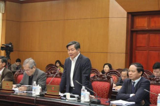 Bộ trưởng Bùi Quang Vinh quyết liệt với dự án giữa đường kêu hết tiền