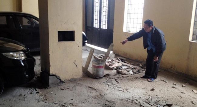 Khẩn trương xử lý tình trạng xuống cấp tại khu tái định cư Đồng Tầu