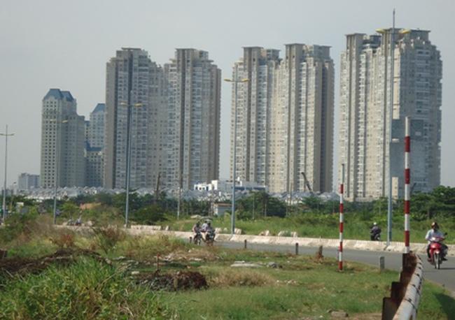 Đất xây dựng đô thị đến năm 2025 của TPHCM là 100.000 ha