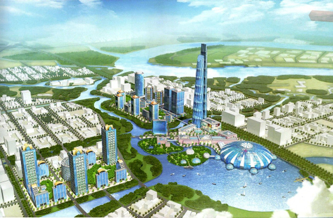 Khu đô thị mới Thủ Thiêm tiếp tục vay nợ