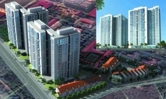 Hà Nội: Thêm dự án chung cư mới có giá dưới 15 triệu đồng/m2