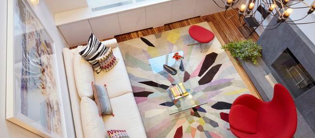 Thiết kế căn hộ sống động với màu sắc và ánh sáng tự nhiên