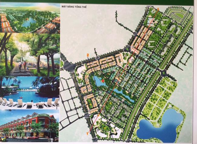 Bàn giao quy hoạch chi tiết khu nhà ở sinh thái tại xã Xuân Phương