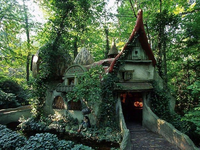 Những căn nhà gỗ giữa rừng đáng mơ ước