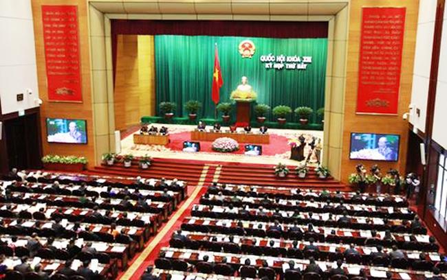 Quốc hội thông qua Luật Xây dựng (sửa đổi)