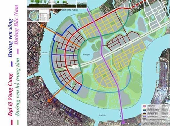 TP HCM: Nhiều dự án đầu tư hạ tầng giao thông đô thị Thủ Thiêm