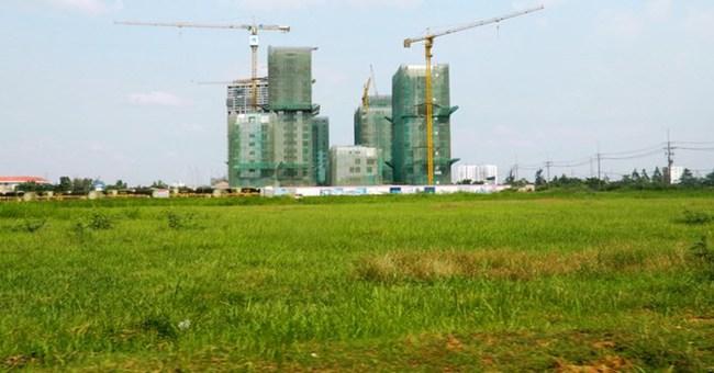 TP.HCM: Hơn 61% diện tích đất xây dựng nhà ở ngưng triển khai