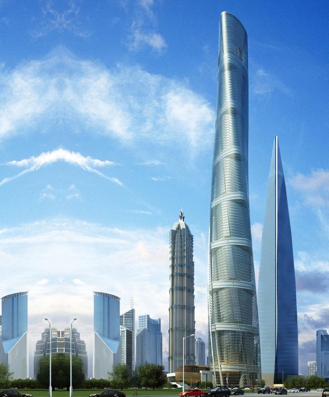 Trung Quốc sắp hoàn thành tòa nhà chọc trời cao thứ 2 thế giới