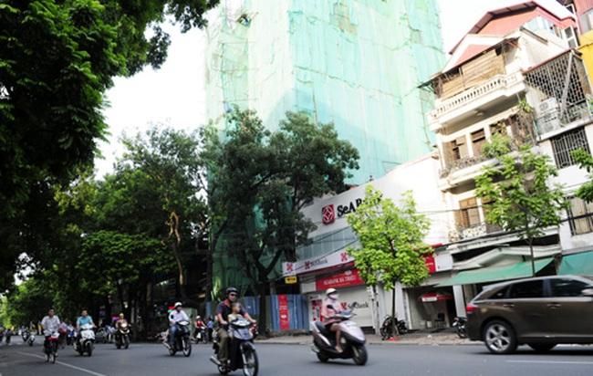Hà Nội bắt đầu xử lý nghiêm vi phạm trật tự xây dựng