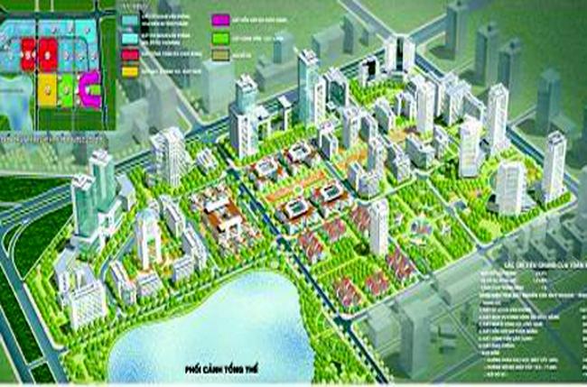 Xây dựng khu liên cơ quan hành chính Hà Nội tại KĐT Đông Nam Trần Duy Hưng