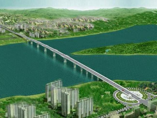 Dự kiến quý 1/2017 sẽ đưa vào sử dụng cầu Thái Hà nối Thái Bình – Hà Nam