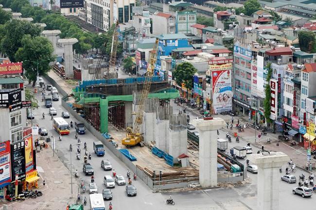 Vẻ đẹp hoành tráng của tuyến đường sắt đô thị Cát Linh - Hà Đông