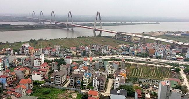 Xây cầu vượt dầm thép tại nút Phú Thượng