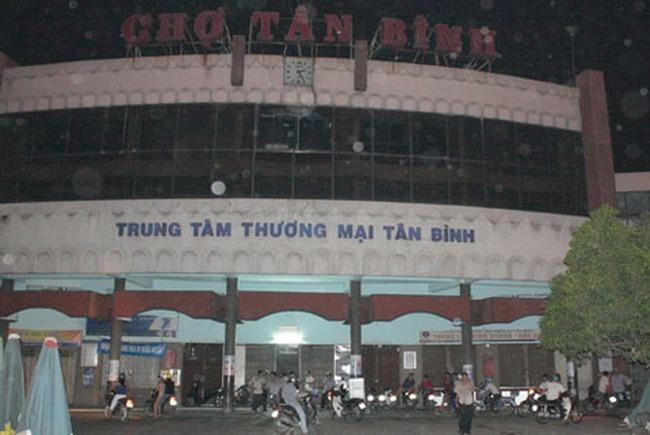 Chợ Tân Bình sẽ thành trung tâm thương mại