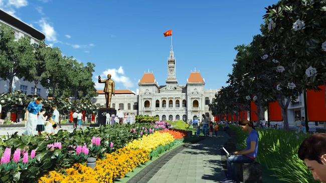 Đẩy nhanh tiến độ thực hiện dự án đường Nguyễn Huệ
