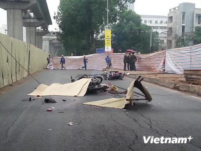 Tạm dừng thi công toàn bộ dự án đường sắt Cát Linh-Hà Đông