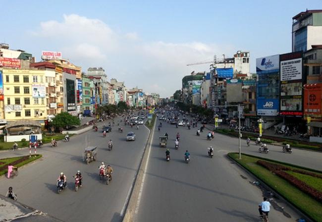 Những đoạn đường Hà Nội có giá gần 1 tỷ đồng mỗi mét