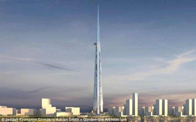 Sắp xây dựng tòa nhà chọc trời cao hơn 1.000m