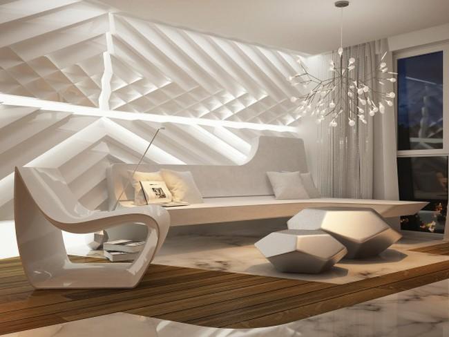 Thiết kế căn hộ tương lai siêu ấn tượng