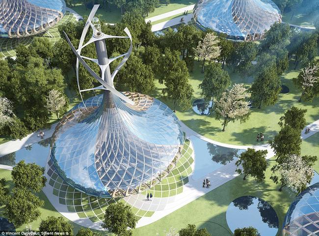Chiêm ngưỡng siêu thành phố sinh thái tương lai tại Trung Quốc