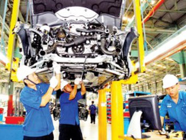 Hà Nội: Chỉ số sản xuất công nghiệp (IIP) 2012 ước đạt 5,1%