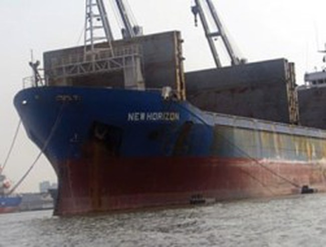Tàu New Horison của Vinashinlines được phép bán để thu hồi vốn