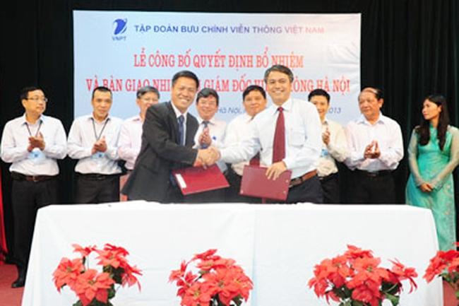 Ông Tô Dũng Thái trở thành Giám đốc VNPT Hà Nội