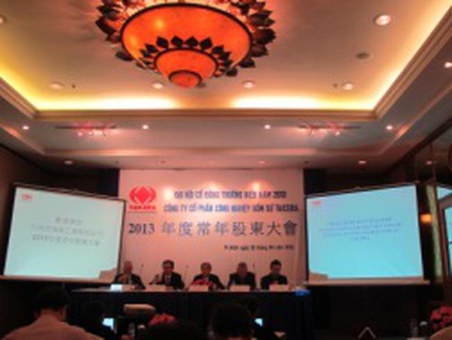 [Trực tiếp] ĐHCĐ thường niên TCR: Con số lợi nhuận kế hoạch 2013 không được công bố