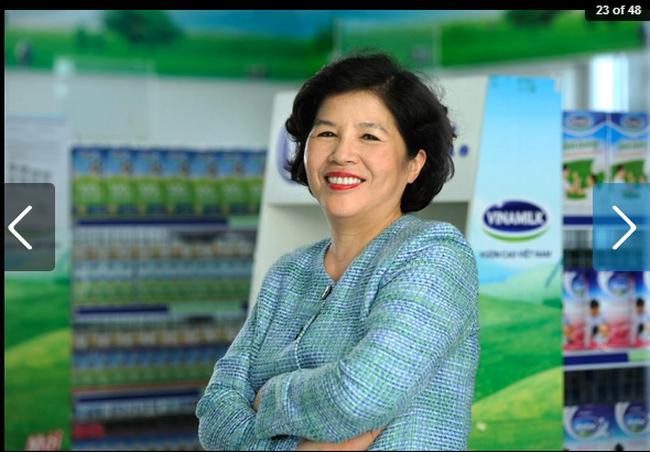 Nữ tướng của Vinamilk Mai Kiều Liên được Forbes vinh danh