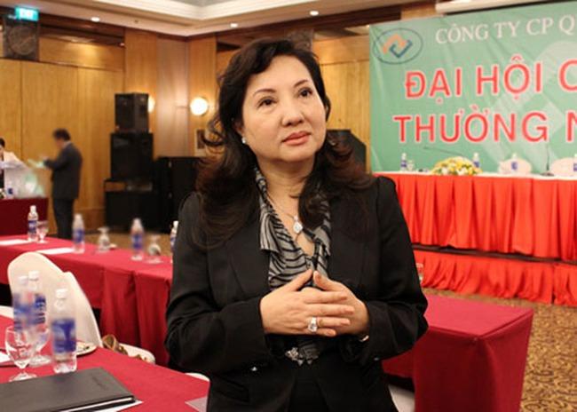 Cấn trừ công nợ, bà Nguyễn Thị Như Loan và con gái  nhận về 80 triệu cổ phiếu QCG