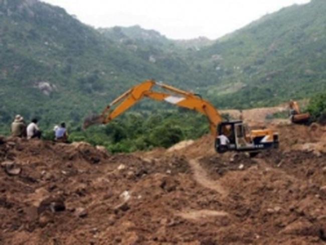 Lập lại trật tự khai thác khoáng sản ở Ninh Thuận