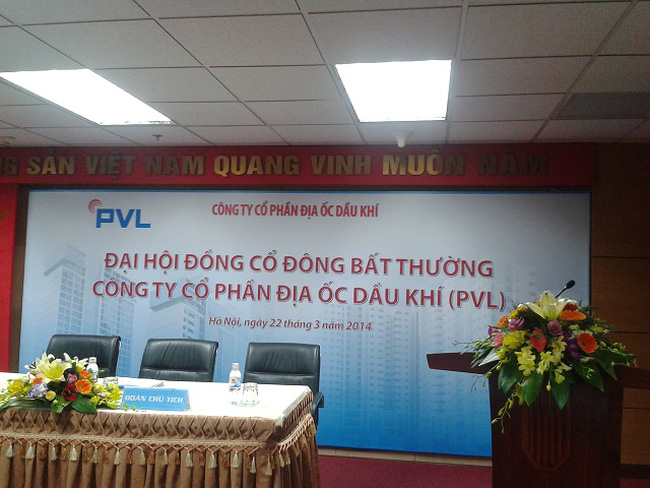 PVL: Không đủ cổ phần biểu quyết để tiến hành ĐHĐCĐ