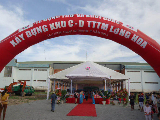 Tây Ninh rút giấy phép đầu tư dự án TTTM Long Hoa
