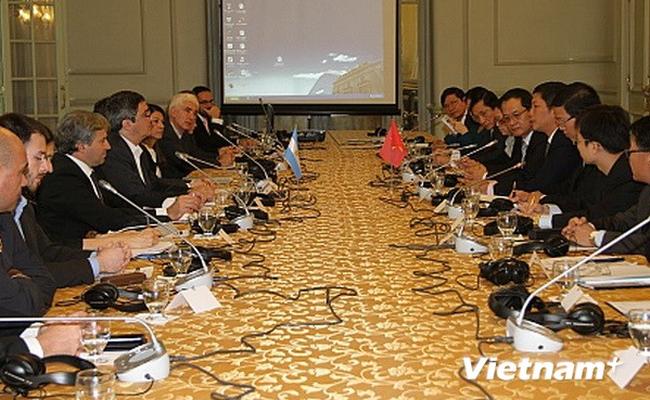 Việt Nam và Argentina nhất trí thúc đẩy hợp tác nhiều mặt