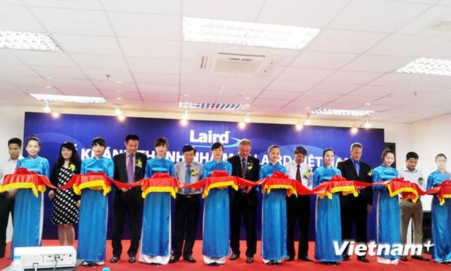 Công ty của Anh chính thức sản xuất linh kiện điện tử tại Việt Nam