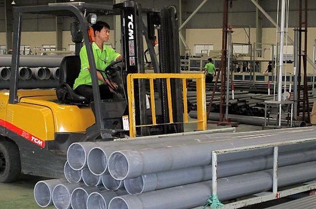 Công ty mẹ Nhựa Tiền Phong: EPS năm 2013 đạt 6.495 đồng/cổ phiếu