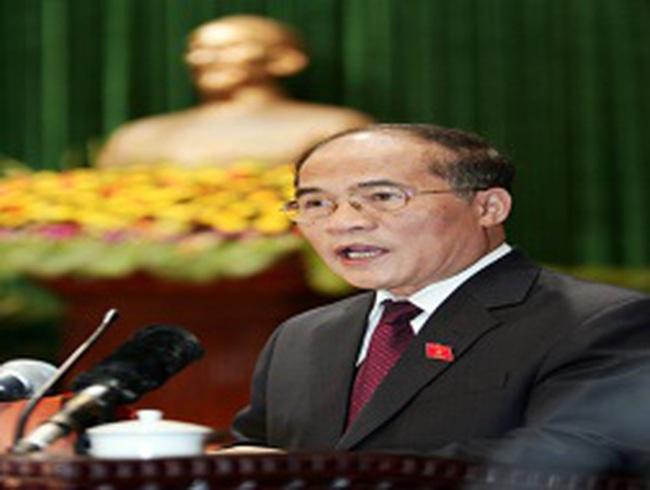Chủ tịch Quốc hội: Năm tới phải có chuyển biến về nợ xấu
