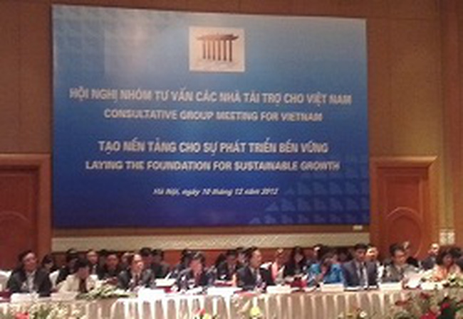 Hội nghị CG 2012: Nhật Bản cam kết tài trợ khoảng 2,6 tỷ USD cho Việt Nam