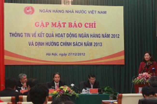 NHNN tổng kết hoạt động ngân hàng năm 2012