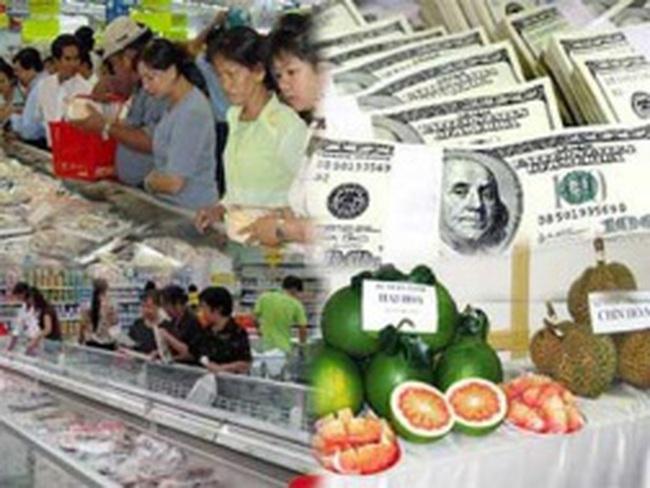 CPI Hà Nội: Tăng 0,95% so với tháng trước
