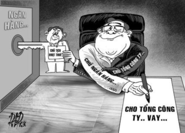 """Nhiều NHTM đã trở thành """"con tin"""" của tập đoàn kinh tế tư nhân"""
