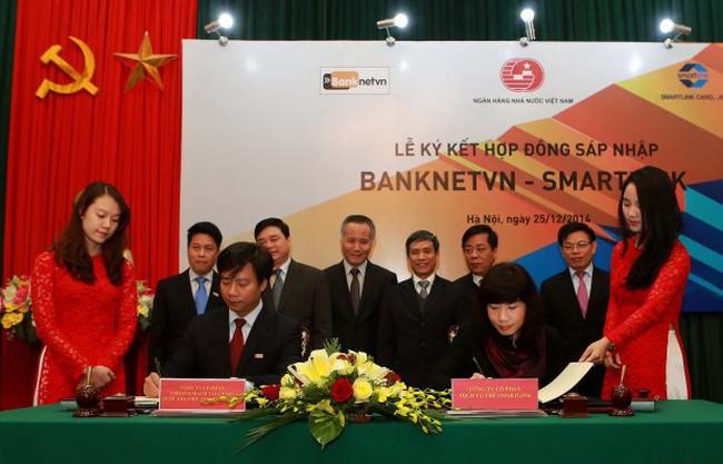 Chính thức sáp nhập 2 liên minh thẻ Banknetvn và Smartlink
