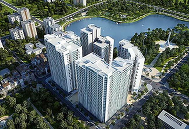 Giá căn hộ cao cấp Mandrin Garden khoảng 29 triệu đồng/m2 không nội thất