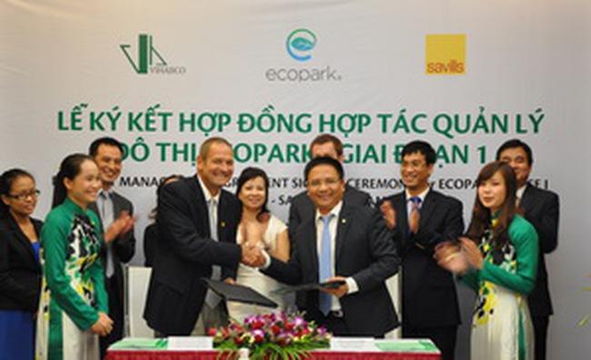 Công ty nước ngoài quản lý Dự án Ecopark