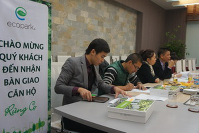 Ecopark bàn giao 470 căn hộ giai đoạn 1
