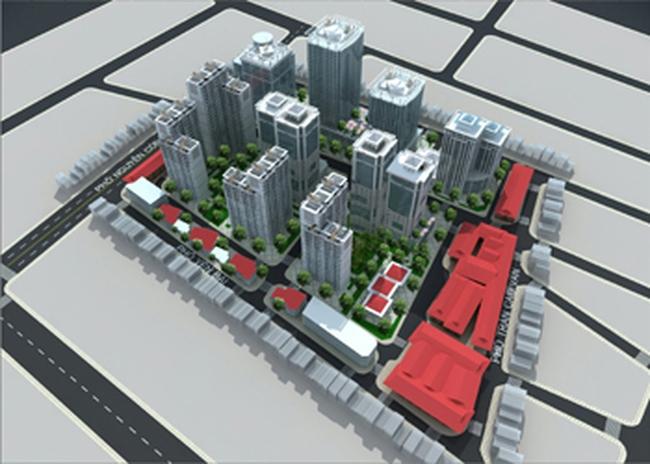 Sắp khởi công xây dựng Dự án xây lại khu tập thể Nguyễn Công Trứ